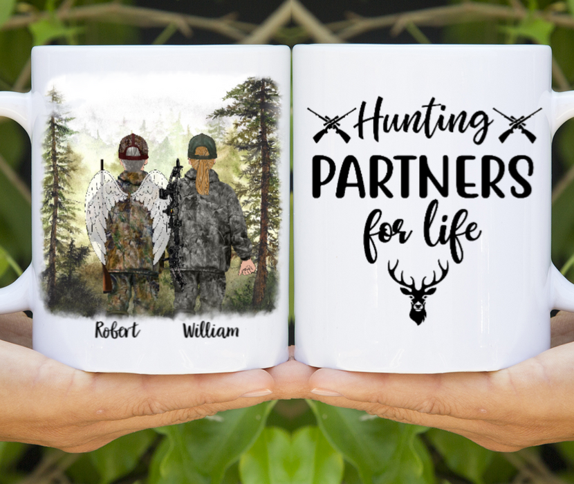 Personalized Mug, Memorial Hunting Buddies Gift For Hunting Lovers