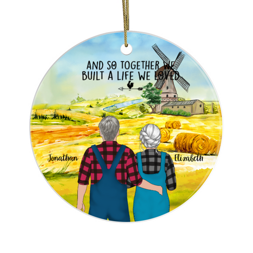 Personalized Ornament - Farming Partners Christmas Gift For Farmer
