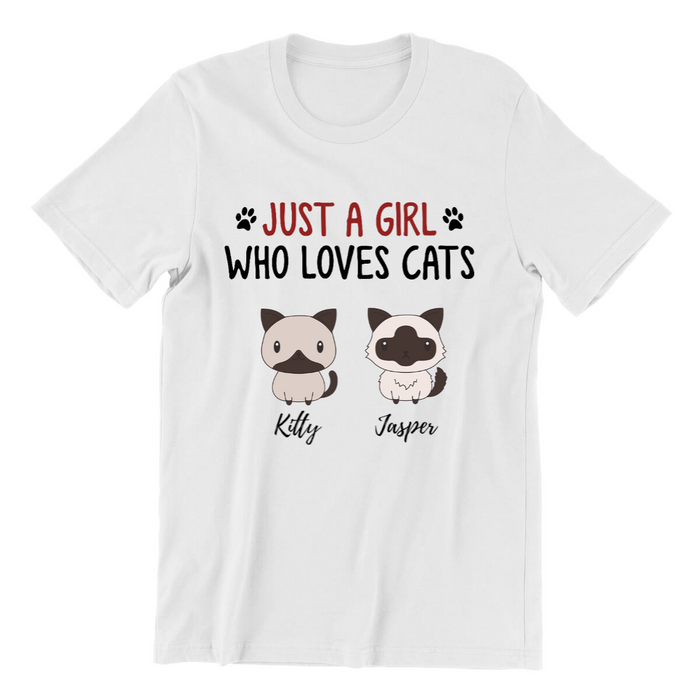 Personalized Shirt - Custom Gift For Cats Lover