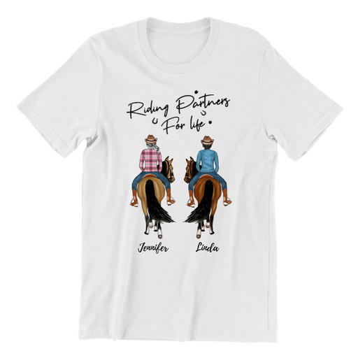 Custom Horse Riding Friends Personalized Shirt