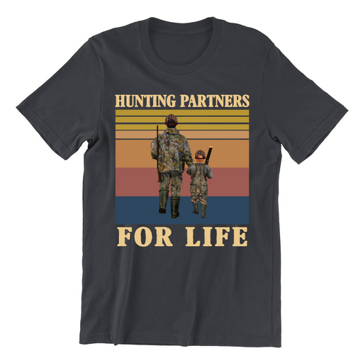 Hunting Partners For Life Dark Customized Shirt