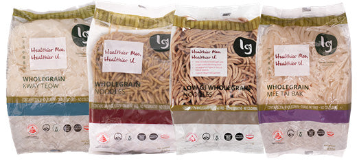 Wholegrain noodle and low gi noodle