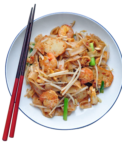 Char Kway Teow (made with wholegrain kway teow)
