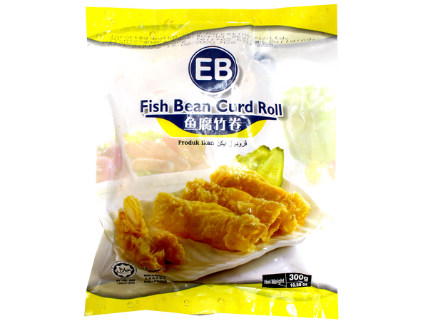 Fish Bean Curd Roll  鱼腐竹卷