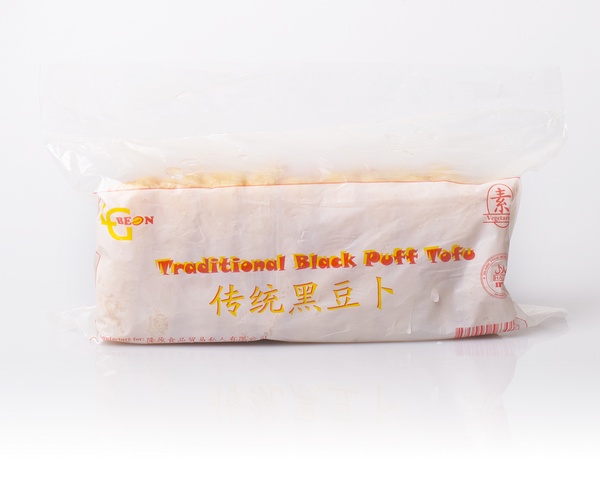 Traditional Black Puff Tofu 传统黑豆卜