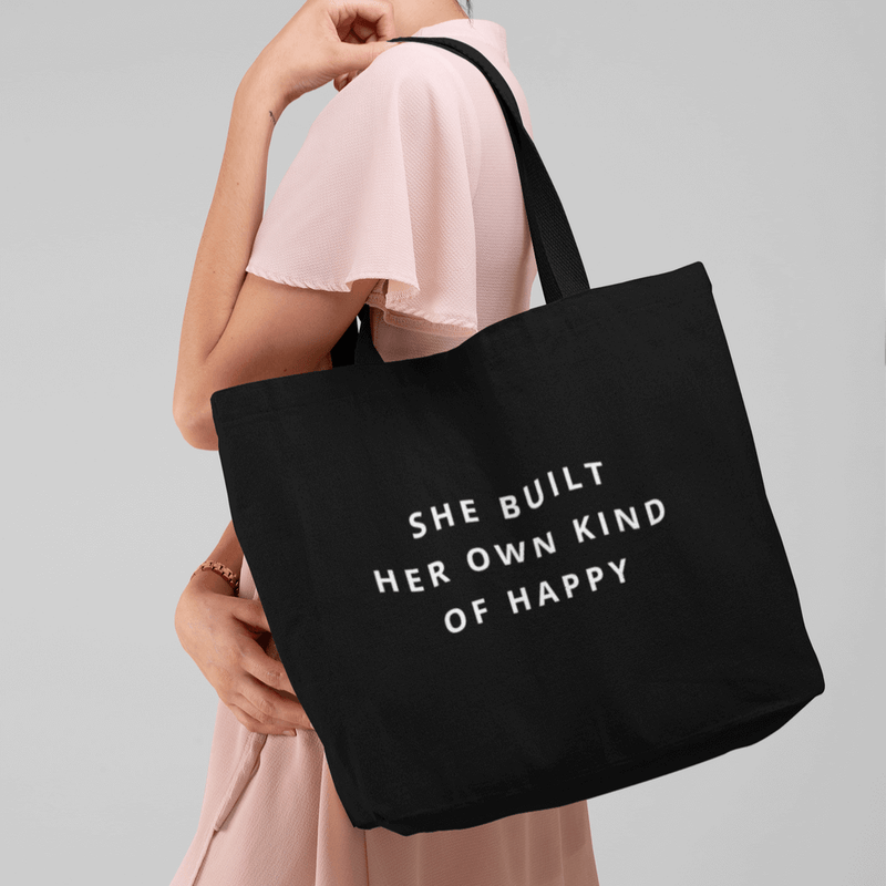 She Built Her Own Kind Of Happy - Day Bag