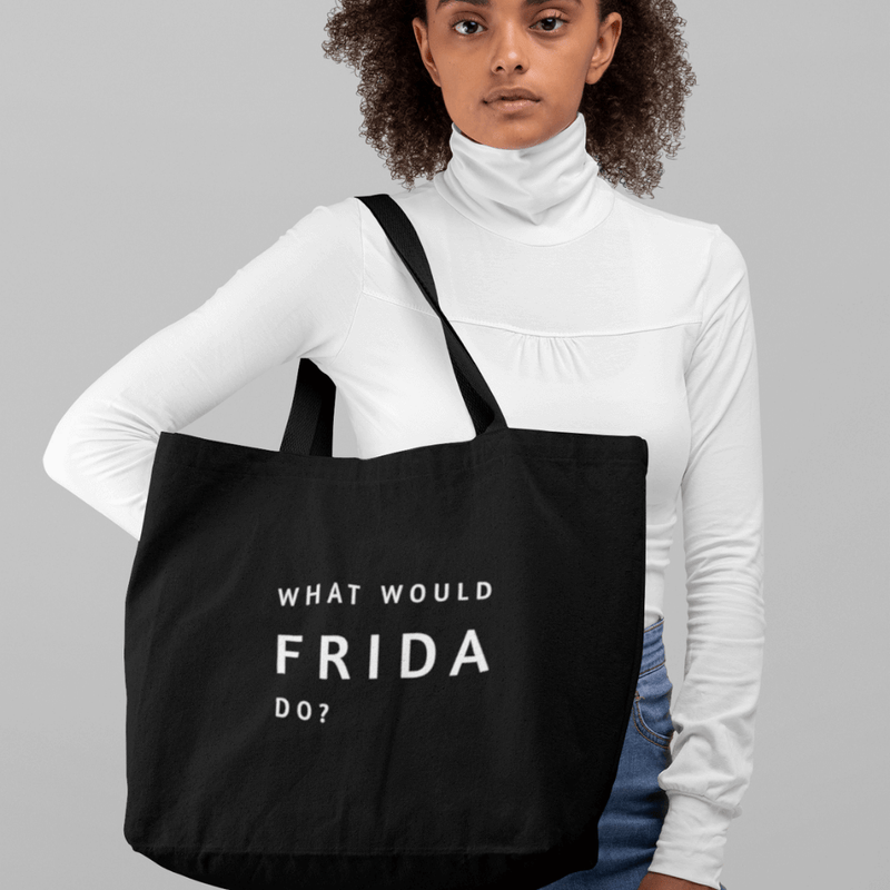 What Would Frida Do? - Day Bag