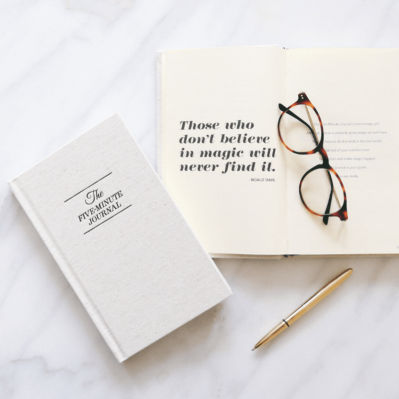 The Five Minute Journal: The simplest thing you can do to start your day happy