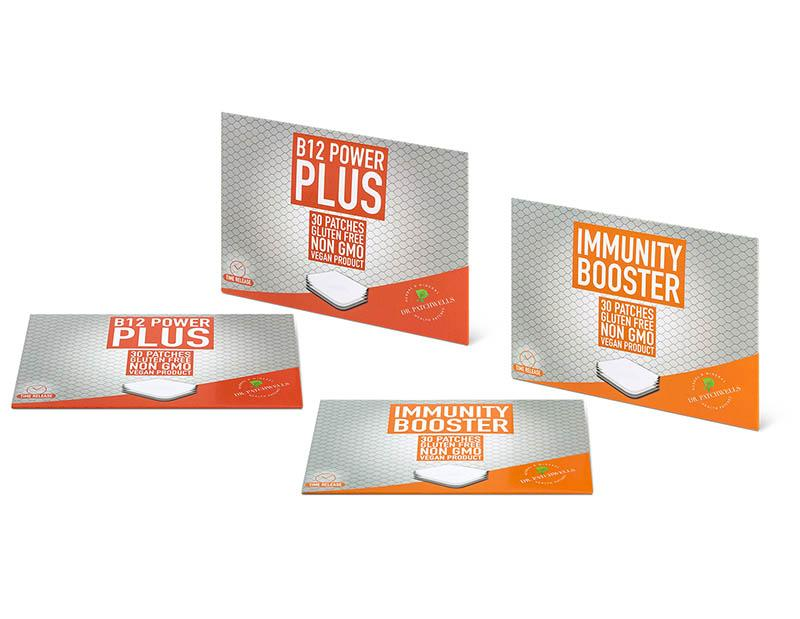 Immunity booster bundle patch