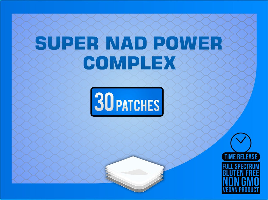 NAD+ 2 Part Anti-Aging Recovery Topical Patch
