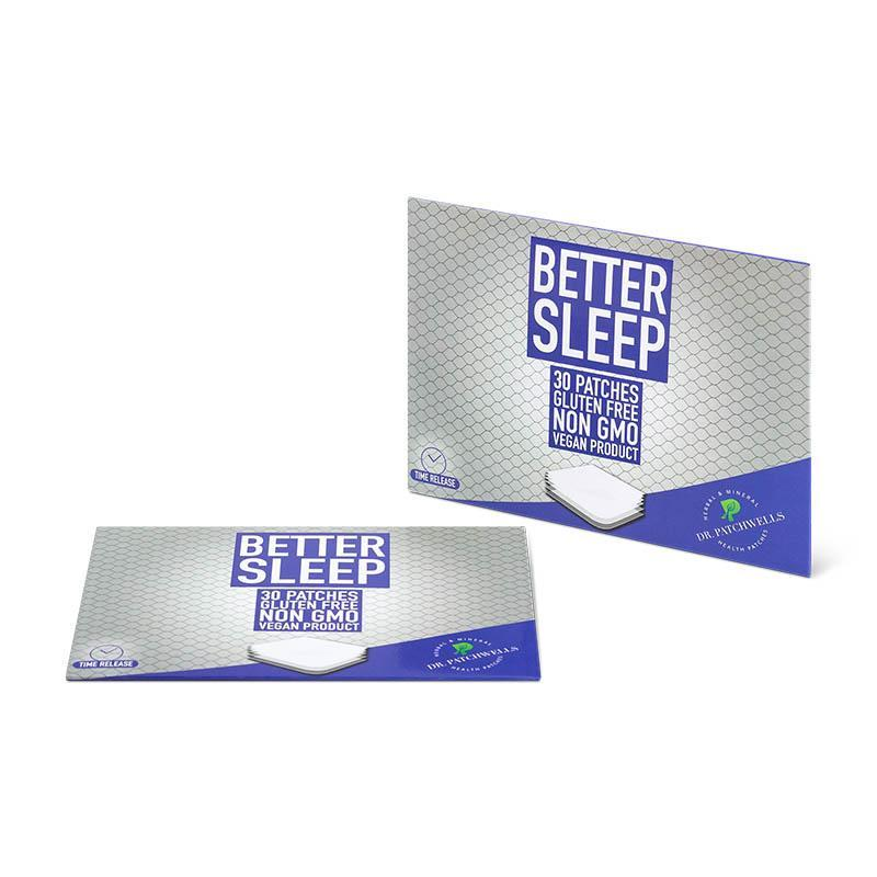 Natural better sleep patch