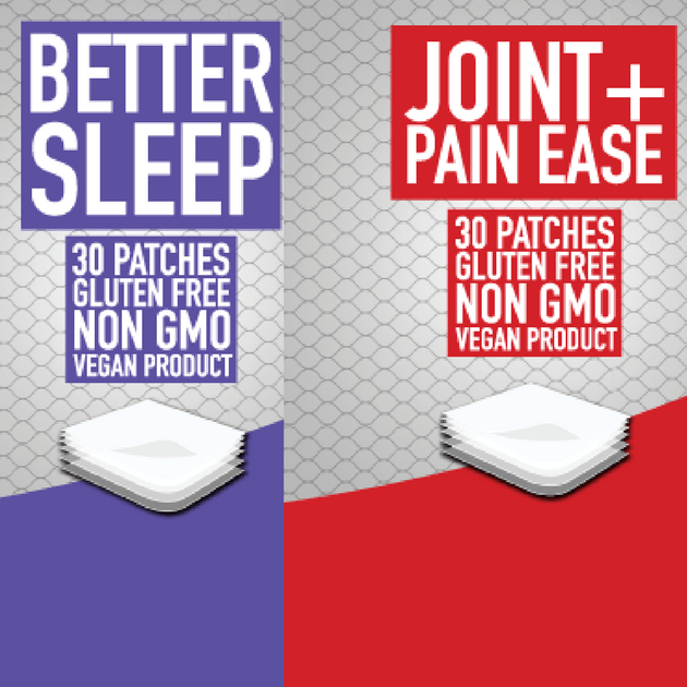 Better Sleep & Joint Pain Bundle patch
