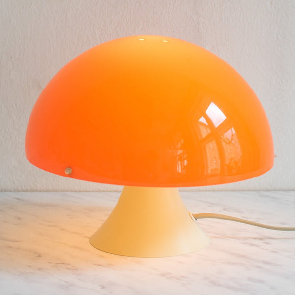 70er Jahre Space Age Lampe in Pilzform