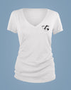 PRIDE Womens Short Sleeve T-Shirt: Woman + Woman