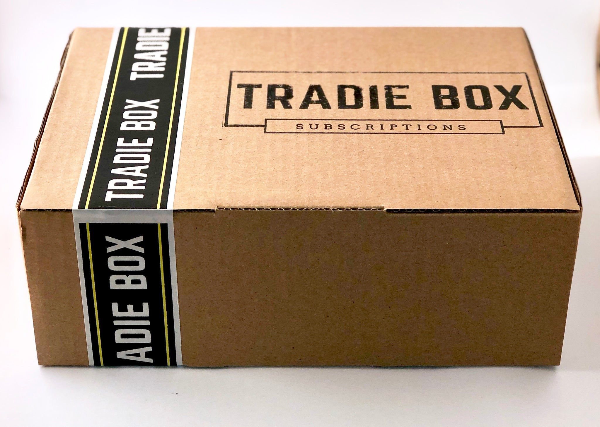 Tradiebox, Tradiebabe, Subscription Box, Tradie, DIYer, Apparel, Tools, PPE, Skincare, Tech, Gadgets