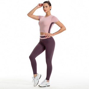 TWO-PIECE FITNESS YOGA SUIT
