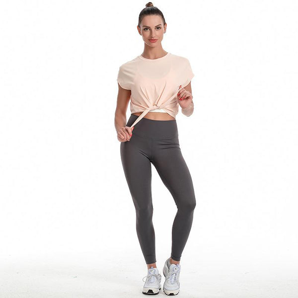 TWO-PIECE FITNESS SPORTS SUIT