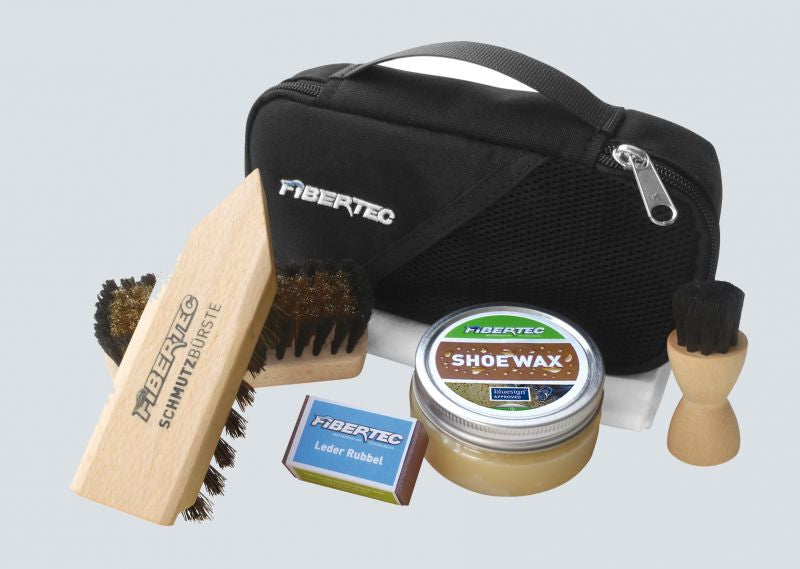 Fibertec Shoe Care Set