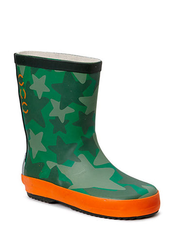 Wellies Star Green 359
