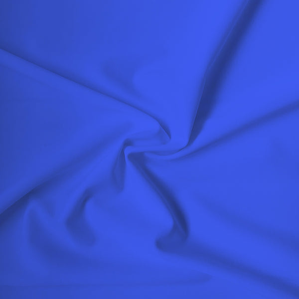 Carvico Malaga Stretch Oltremare Blue Matt Lycra Fabric (1m)