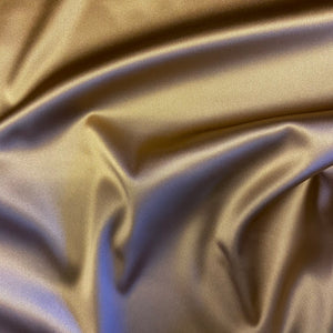 Boselli Segrino Copper Bronze Skin Stretch Satin 1m - (98cm wide)