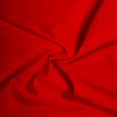 Carvico Malaga Stretch Redcoat Matt Lycra Fabric (1m)
