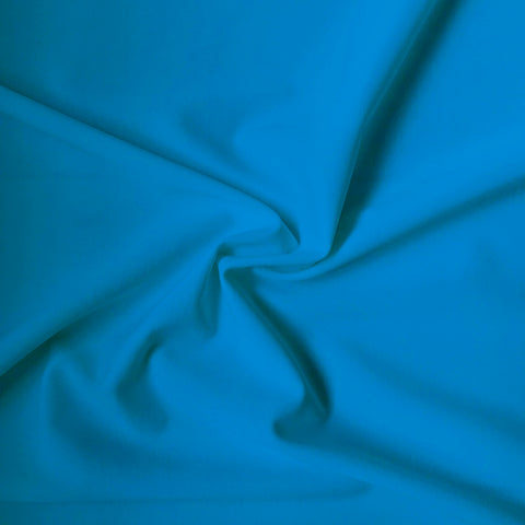 Carvico Malaga Stretch Turchese Turquoise Matt Lycra Fabric (1m)