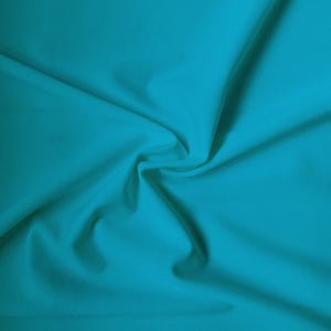 Carvico Malaga Stretch Corfu Blue Matt Lycra Fabric (1m)