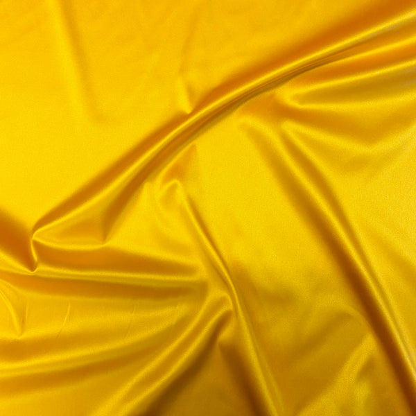 Boselli Softdolly Mandarin Gold Stretch Satin 1m - (175cm wide)