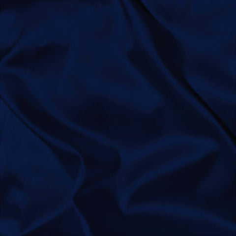 Boselli Segrino Midnight Navy Stretch Satin 1m - (98cm wide)