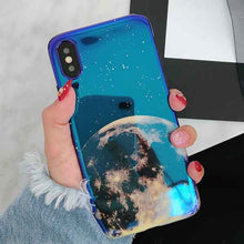 Load image into Gallery viewer, Metallic Blue Universe iPhone case - For iPhone 6 6S / d - Starsystems