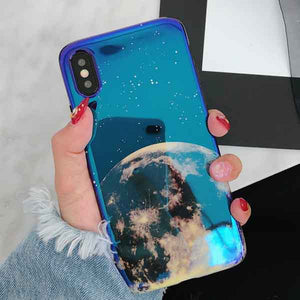 Metallic Blue Universe iPhone case - For iPhone 6 6S / d - Starsystems