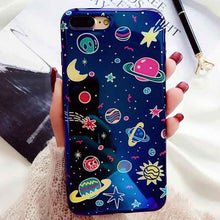 Load image into Gallery viewer, Metallic Blue Universe iPhone case - For iPhone 6 6S / c - Starsystems