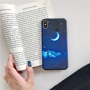 Glow in the Dark Blue Sky - For iPhone 6 6s / T3 - Starsystems