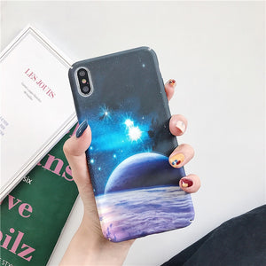 Glow in the Dark Blue Sky - For iPhone 6 6s / T1 - Starsystems