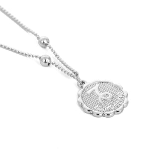 Zodiac Charms Necklace - Capricorn / Silver - Starsystems
