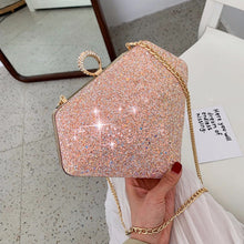 Load image into Gallery viewer, Diamond Galaxy Purses - Pink / Mini 14CM 2CM 14CM - Starsystems