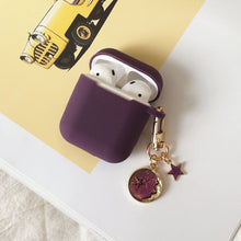 Load image into Gallery viewer, Astronaut Planet Keychain Airpod Cover - Purple - Starsystems