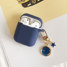 Load image into Gallery viewer, Astronaut Planet Keychain Airpod Cover - Violet - Starsystems