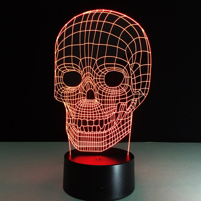 Skull Illusion Lamp - - Starsystems