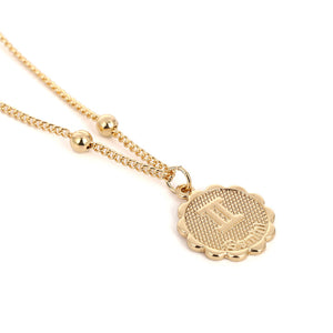 Zodiac Charms Necklace - Gemini / Gold - Starsystems