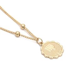 Load image into Gallery viewer, Zodiac Charms Necklace - Virgo / Gold - Starsystems