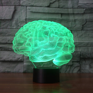 StarSystems - Brain Illusion Lamp - 3D LED Light