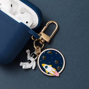 Astronaut Planet Keychain Airpod Cover - - Starsystems