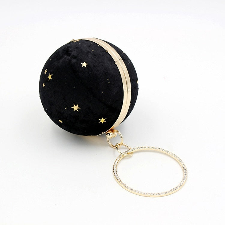 Starry Constellation Purse - Black - Starsystems