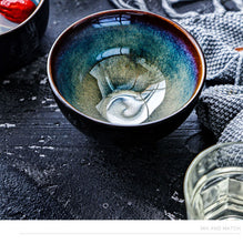Load image into Gallery viewer, Ceramic Bowl Under-glaze Galaxy Bowl - - Starsystems