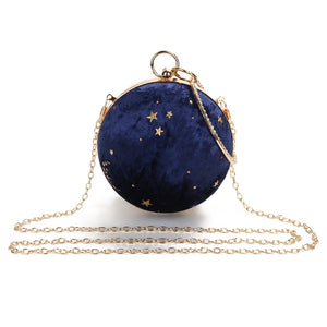 Starry Constellation Purse - Blue - Starsystems