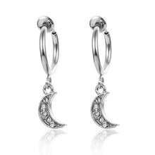 Load image into Gallery viewer, Celestial Earrings - Set A - Silver - Starsystems