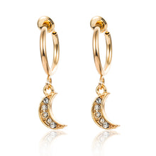 Load image into Gallery viewer, Celestial Earrings - Set A - Gold - Starsystems