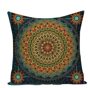 Colorful Mandala Pillow Covers - L584 / L584-17 - Starsystems